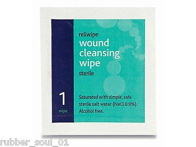 Reliance Medical - Reliwipe Sterile Wound Cleansing Wipes