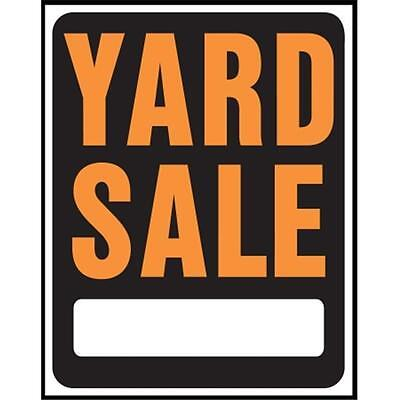 Hy-ko SP-111 15 in. X 19 in. Plastic Yard Sale Sign Pack of 5