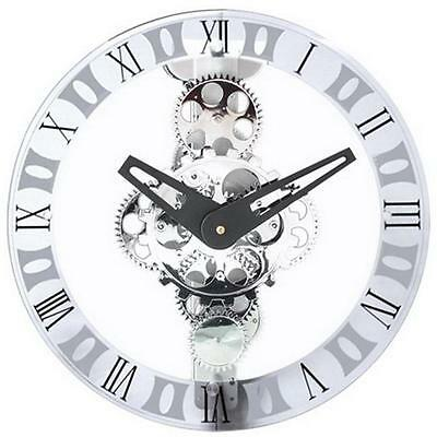 Maples GCL06-333 Moving-Gear Wall Clock With Glass Cover