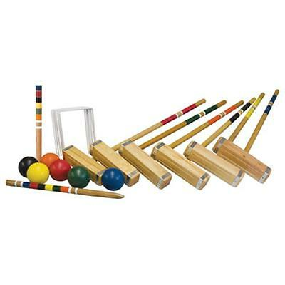 Franklin Sports Industry 50202 Advanced 6 Player Croquet Set