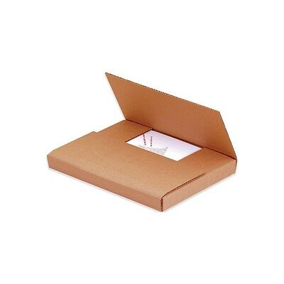 "Easy-Fold Mailers, 20""x16""x2"", Kraft, 50/Bundle"