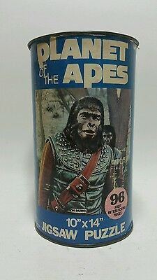"1967 H-G Toys Planet of the Apes 10"" x 14"" Jigsaw Puzzle"