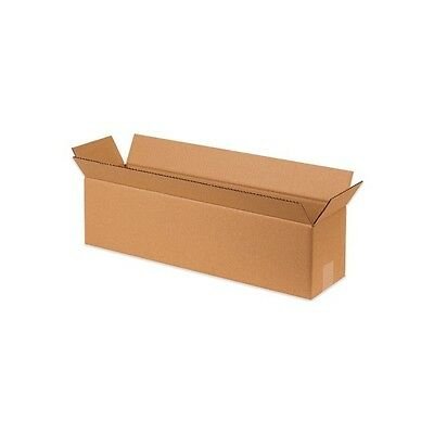 """Long Corrugated Boxes, 16"""" x 5"""" x 5"""", Kraft, 25/Bundle"""