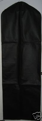 5 Black Breathable Cloth Wedding Gown Dress Garment Bag