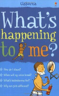 What's Happening to Me?: Boy (Facts Of Life) by Alex Frith Paperback Book The
