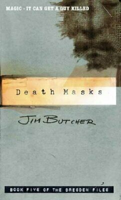Death Masks: The Dresden Files, Book Five by Butcher, Jim Paperback Book The