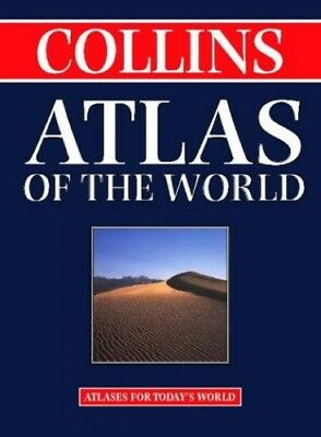 Collins Atlas of The World (World Atlas) by Collins Hardback Book The Cheap Fast