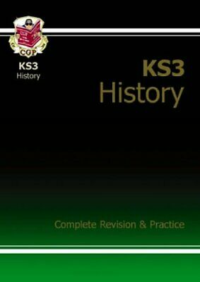 KS3 History Complete Study & Practice, CGP Books Paperback Book The Cheap Fast