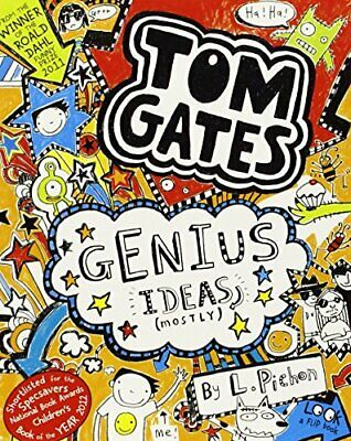 Genius Ideas (Mostly) (Tom Gates) by Liz Pichon Book The Cheap Fast Free Post