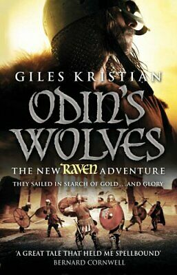 Raven 3: Odin's Wolves by Kristian, Giles Book The Cheap Fast Free Post