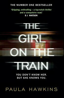 The Girl on the Train by Hawkins, Paula Book The Cheap Fast Free Post