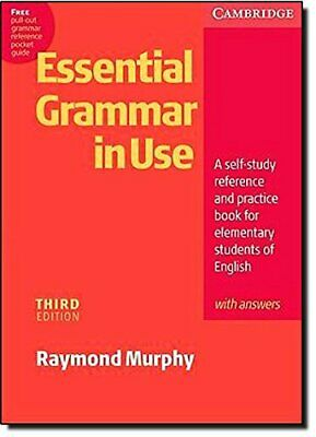 Essential Grammar in Use with Answers: A Self-St... by Murphy, Raymond Paperback