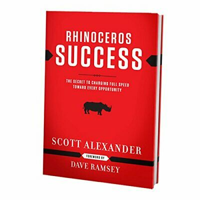 Rhinoceros Success by Alexander, Scott Paperback Book The Cheap Fast Free Post
