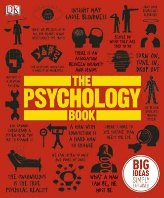 The Psychology Book by Marcus Weeks Book The Cheap Fast Free Post