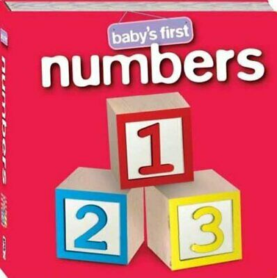 Numbers (Baby's First Padded: S3) by Hinkler Books PTY Ltd Book The Cheap Fast