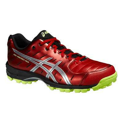 Asics Gel-Hockey Neo 3 Mens Hockey Shoes Fiery Red/Silver/Flash Yellow 2015