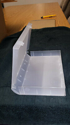 100 New High Quality Standard Vhs Cases With Full Sleeve, No Hub - Clear - Psv14