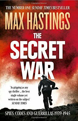 The Secret War by Hastings, Max Book The Cheap Fast Free Post
