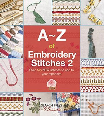 A-Z of Embroidery Stitches 2 -Country Bumpkin-embroidery book (A - Z embroidery)