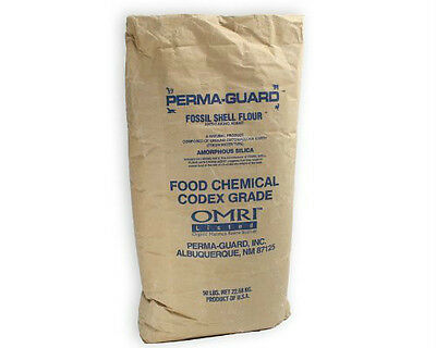 2 lb Perma-Guard Food Grade Diatomaceous Earth 100% Pure DE No additives
