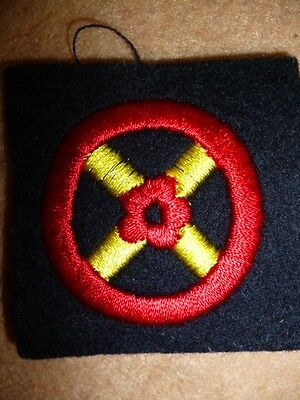 Western Command Embroidered Patch, British Army