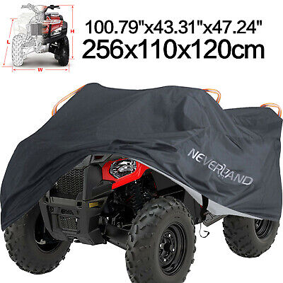 XXXL 190T Waterproof ATV Cover Universal Fit Polaris Honda Yamaha Can-Am Suzuki