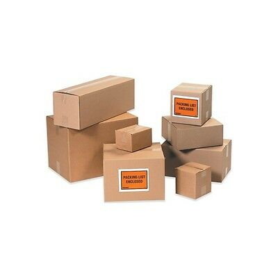 """Corrugated Boxes, 6"""" x 6"""" x 2"""", Kraft, 25/Bundle"""