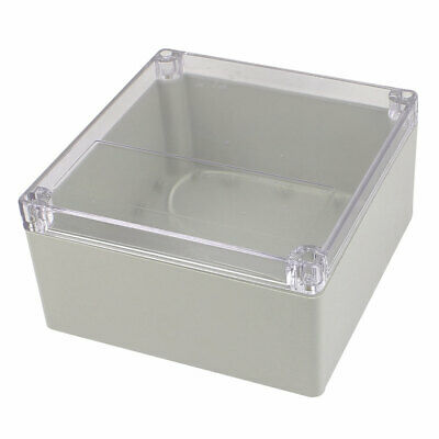 192mm x 188mm x 100mm Clear Cover Waterproof Enclosure Case DIY Junction Box