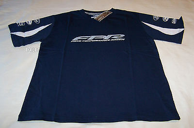 Ford Performance Racing FPR Boys Navy Blue Printed T Shirt Size 14 New