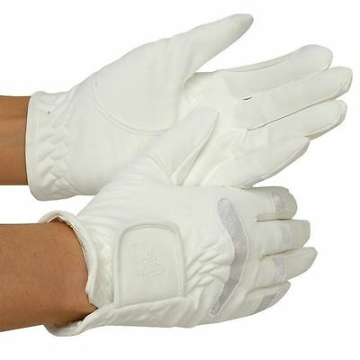 Requisite Mens Insert Gloves Hands Horse Riding Equestrian Accessories