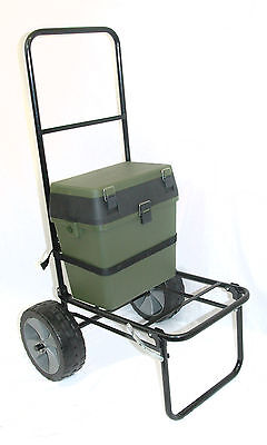 Folding Fishing Seatbox Trolley & Seatbox