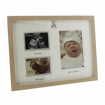 Bambino Scans & 1st Photos Multi Photo Frame Ideal Gift NEW  26397
