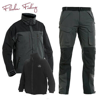 Fladen Fishing Authentic Wear Waterproof Fishing 3-in-1 Jacket & Trousers M-XXL