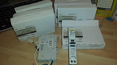 SQUARE D QOE 30mA RCBO'S, MCB RCD, CIRCUIT BREAKERS 16 20A & 32A TYPES B & C NEW