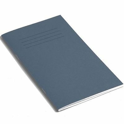 Pk 5 RHINO 200 x 120 mm 80 Page Exercise , 8mm Ruled - Dark Blue