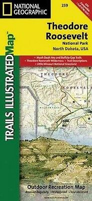 Theodore Roosevelt National Park - New Paperback Book