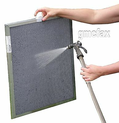 16x25x1 Electrostatic Furnace A/C Air Filter - Washable, Permanent