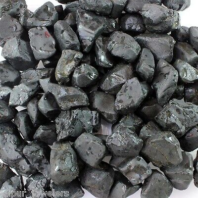 500 Carat Wholesale Lot Of Natural Earth Mined Black Spinel Gemstone Facet Rough