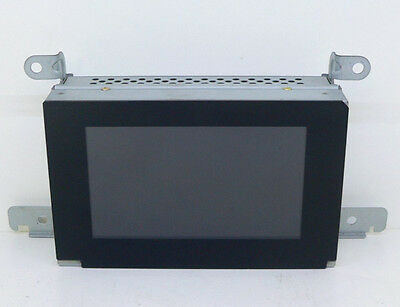Nissan Primera P12 Central Info Display Lcd Monitor Écran Clock / Uhr Cc5W-4001P
