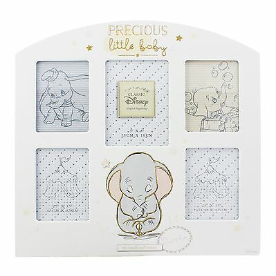 Disney Dumbo Precious Little Baby Multi Photo Frame NEW in Gift Box - 26407