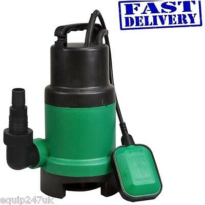 Dirty Water Garden Pump - 400w Submersible 10000 Hr Pool Pond Drain Flooding