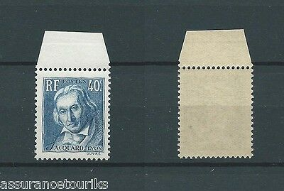 France Jacquard - 1934 Yt 295 - Timbre Neuf** Luxe - 010