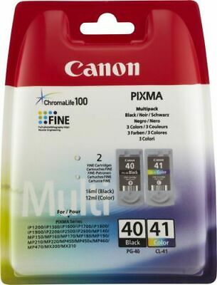2 Originaldruckerpatronen Canon Pg40 + Cl41 Pixma Mp460 Ip1900 Ip1300 Mp450