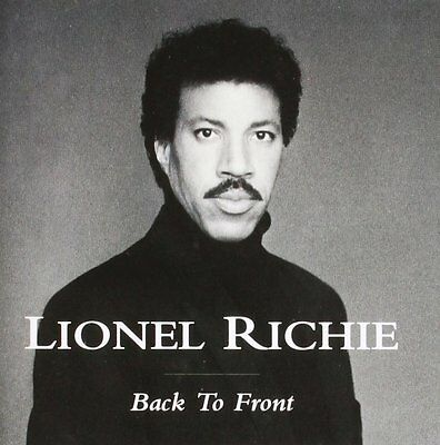 Lionel Richie Back To Front (Greatest Hits / Best Of) Cd
