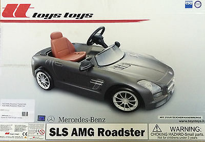 OEM Mercedes-Benz SLS AMG Children's Pedal Car Ages 3-5 AMBY105 GY NEW