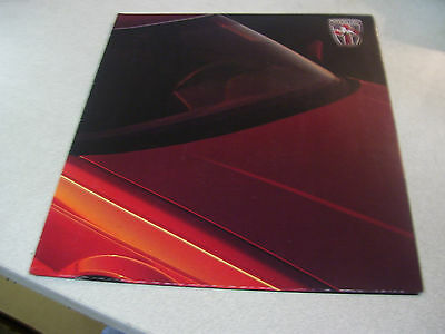 Amazing 1988 STERLING 825SL and STERLING 825S Automobile Brochure
