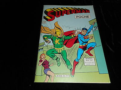 Superman poche 55 Editions Sagédition mars 1982