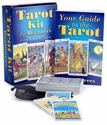 Tarot Kit for Beginners by Janet Berres (English) Paperback Book Free Shipping!