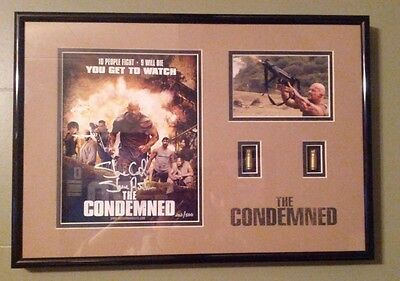 Wwe Stone Cold The Condemned Hand Signed Commemorative Plaque With Coa 280/500