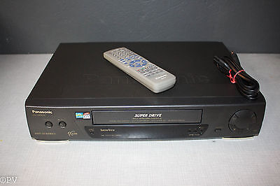 Panasonic NV-HD62 VHS HiFi Stereo mit Kabel , Fernbedienung made in Germany